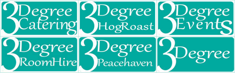 3Degree Hog Roast Retina Logo