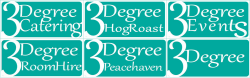 3Degree Hog & Spit Roast Logo